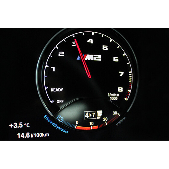 LEIB CAN BOOST gauge for BMW 750d | F01 - F02